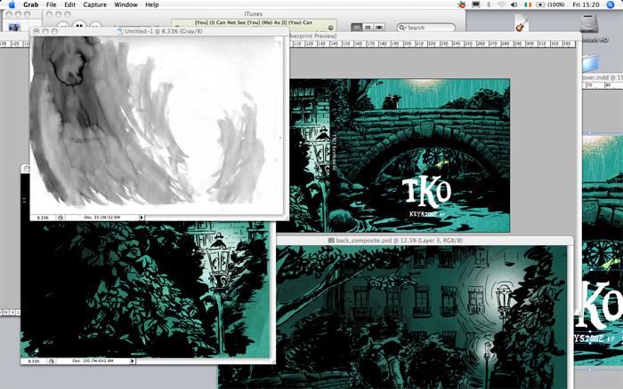 work in progress 15 Oct 2010